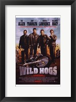 Framed Wild Hogs