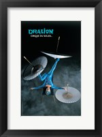 Framed Cirque du Soleil - Dralion, c.1999 (Foot-Juggler)