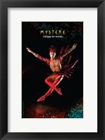 Framed Cirque du Soleil - Mystere, c.1993 (red bird)