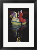"Framed Cirque du Soleil - ""O"", c.1998 (horse and comete)"