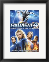 Framed Fantastic Four: Rise of the Silver Surfer Movie Posters