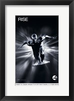 Framed Fantastic Four: Rise of the Silver Surfer - Rise Black and White