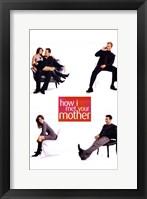 Framed How I Met Your Mother - Sitting