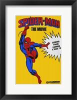 Framed Spider-man The Movie
