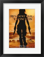 Framed Resident Evil: Extinction
