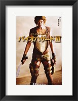 Framed Resident Evil: Extinction Japanese