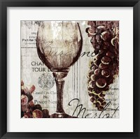 Shades of Red I Framed Print