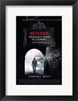 Framed Sweeney Todd: The Demon Barber of Fleet Street