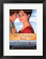 Framed Becoming Jane Beach