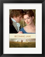 Framed Becoming Jane Poster