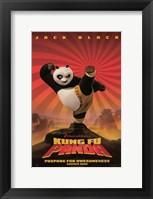 Framed Kung Fu Panda