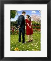 Pushing Daisies Loving Couple Ned and Charolette Framed Print