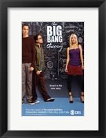 Framed Big Bang Theory