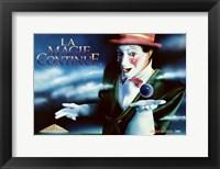 Framed Cirque du Soleil - Le Magie Continue, c.1986