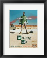 Framed Breaking Bad - pantless man