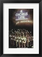 Framed Chorus Line (Broadway)