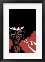 Framed Afro Samurai