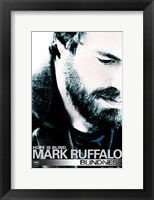 Blindness Mark Ruffalo Framed Print
