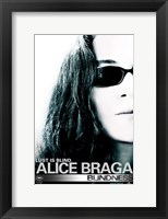 Blindness Alice Braga Framed Print