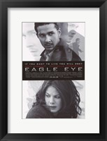 Framed Eagle Eye