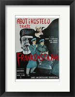Framed Bud Abbott and Lou Costello Meet Frankenstein, c.1948 (foreign)
