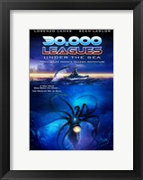 Framed 30,000 Leagues Under the Sea