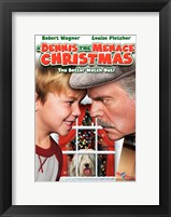 Framed Dennis the Menace Christmas
