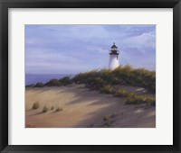 Framed Lighthouse on the Shore