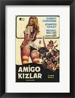 Framed Pom-Pom Girls Turkish