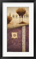 Transitional Landscape IV Framed Print