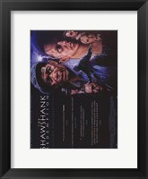 Framed Shawshank Redemption Lightning Wide
