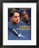 Framed Shawshank Redemption Cadena Perptua