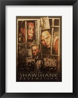 Framed Shawshank Redemption Photographs