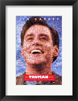 Framed Truman Show Jim Carrey