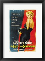 Framed Lady From Shanghai
