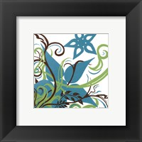 Framed Floral Twist II