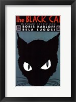 Framed Black Cat, 1934