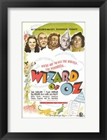 Framed Wizard of Oz Colorful