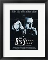 Framed Big Sleep Black and White