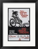 Framed Great Escape Motorcycle
