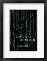 Framed Matrix Reloaded Logo