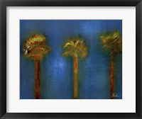3 Palms I Framed Print