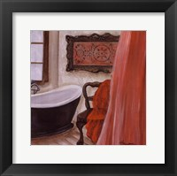 Antique Bath I Framed Print