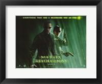 Framed Matrix Revolutions Beginning has an End