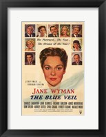 Framed Blue Veil