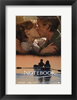 Framed Notebook Kiss