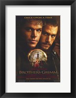 Framed Brothers Grimm - Once apon a time