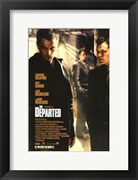 Framed Departed DiCaprio
