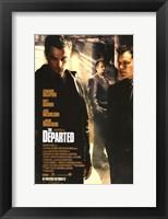 Framed Departed DiCaprio