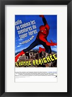 Framed Amazing Spider-Man - cartoon